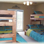 3rd Bedroom with 2 Sets of Bunks - Full on Bottom and Twin on Top