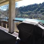Lake Austin Vacation Back Porch View