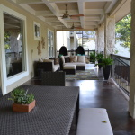 Large Back Porch over looking Lake Austin