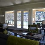 Living Area overlooking Lake