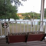 Lake Travis Getaway Swing View