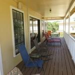 Lake Travis Getaway Upper Porch