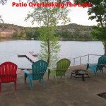 Patio Overlooking the Lake