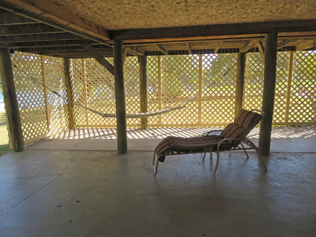 Relax in the shade under Lake Travis Getaway