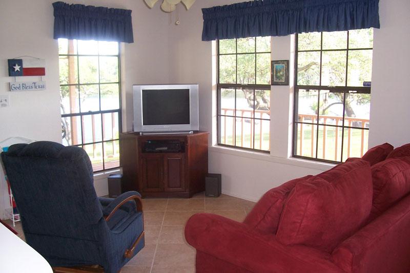 Lake Travis Getaway Living Area